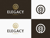 Elegacy Events - Logotype Design