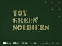Toy Green Soldiers - Brand Identity