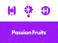 Passion Fruits - Logo Concepts 🍹