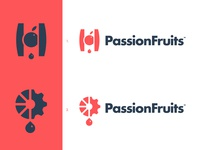 Passion Fruits - Logotype Concepts