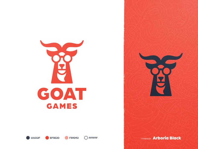 Goat Games - Brand Identity 🐐