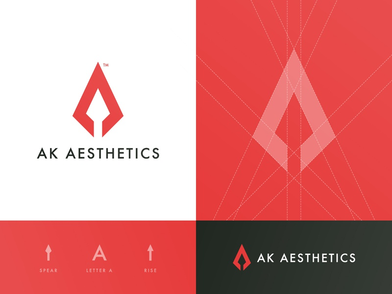 AK Aesthetics - Logo Design