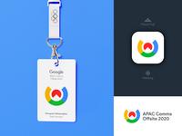 Google APAC Comms Offsite 2020 - Brand Design