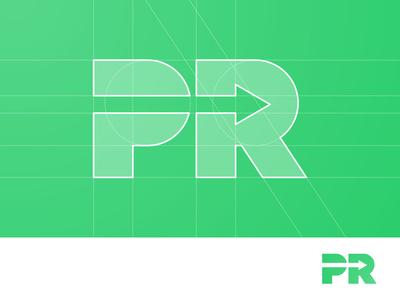 PR Arrow - Logo Concept