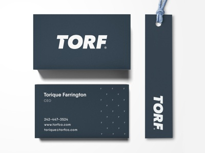 Torf - Brand Identity Design logo wordmark typography streetwear logotype designer letter t identity design custom type business card clothing label branding brand