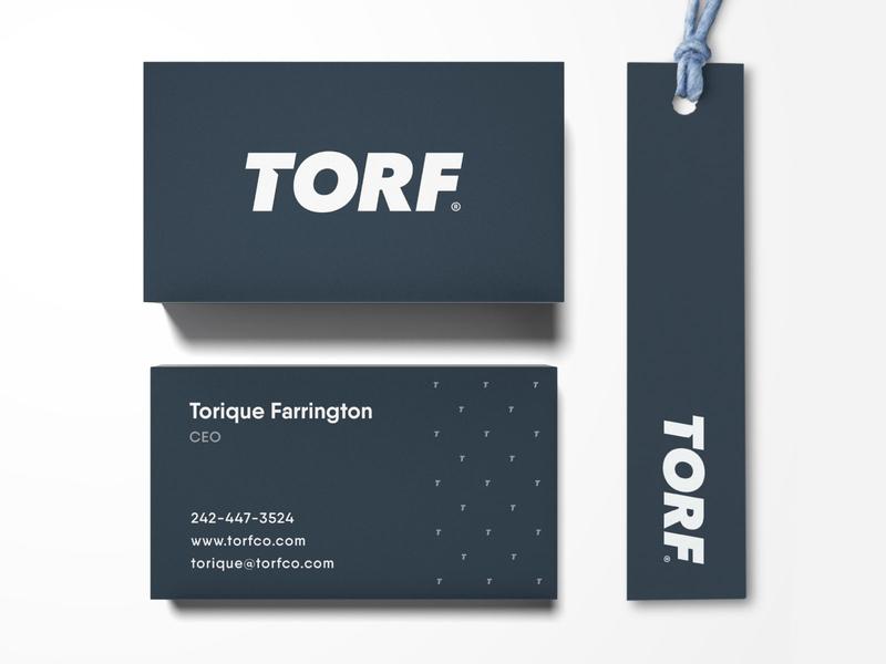 Torf - Brand Identity Design logo wordmark typography streetwear logotype designer letter t identity design custom type business card clothing label branding brand