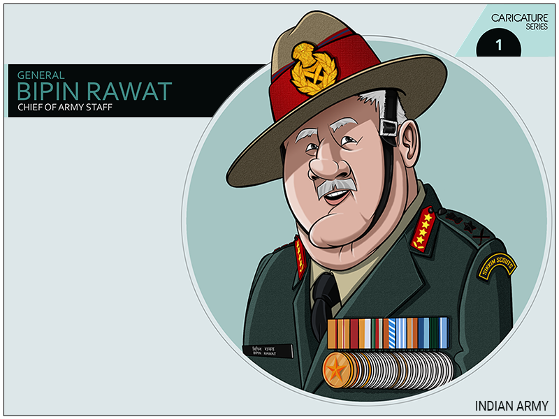 Chief Of Staff- INDIAN ARMY by Sarabjeet Singh on Dribbble