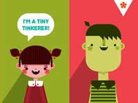 Tiny Tinks Character Designs