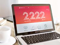 Website Homepage Design