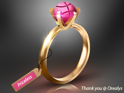Dribbble Ring debut debut shot icon 3d ring dribbble dribbble ring gold golden logo ui design user interface ui designer gui user interface designer best quality tag price tag