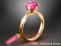 Dribbble Ring
