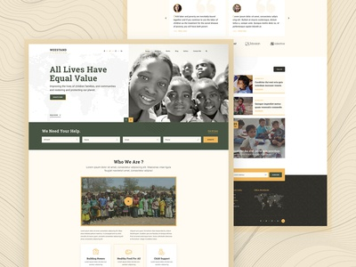 Weestand - Charity Web Design
