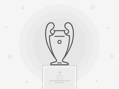 Champions League - Freebie Icon template match cup trophy football soccer free freebie icon league champions