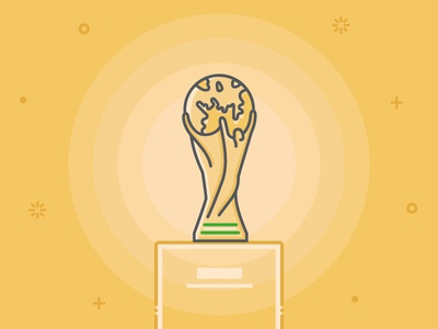 World Cup Freebie Trophy national event fifa match cup podium trophy football soccer free illustration icon
