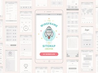 Mobile Wireframe And Sitemap Generator