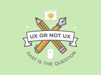 Ux or not Ux - That is the Question