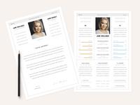 UX UI - CV Resumee