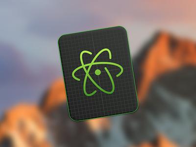 Atom Icon atom windows macos osx icon