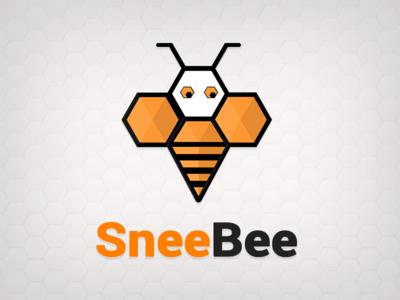 SneeBee Logo ui management app event design app logo