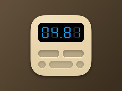Fingy iOS icon ios flat digits hangboard beastmaker boulder climbing training icon app fingy