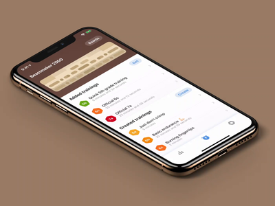Select holds and fingers select form video animation climbing iphone ui app ios