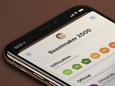 Training repository sport climbing iphone ui list pot shop repository training app ios