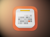 Another calendar icon - First draft