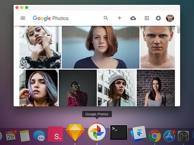 Google Photos for macOS application osx mac download app macos photos google