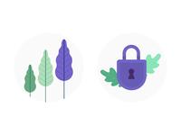 Acorns 3.0 Website Illustrations
