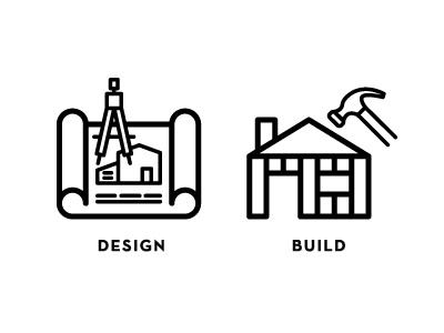 Design + Build Icons