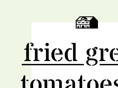 Fried Green Book Cover train station building mint green stencil shadow book cover type