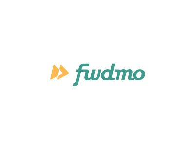 Fwdmo Logo 2 motion forward hexagon green logo yellow fast wordmark type custom italic slanted