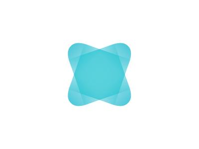 Shape Star Logo geometry shine gradient curves octagon square star diamond angles geometric shape logo