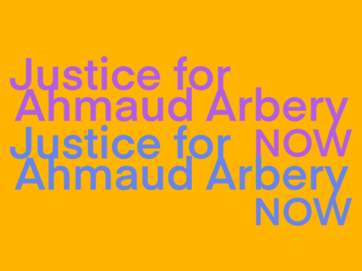 justice for Ahmaud Arbery