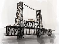 Name that bridge. Hint I'm daydreaming about Stumptown.
