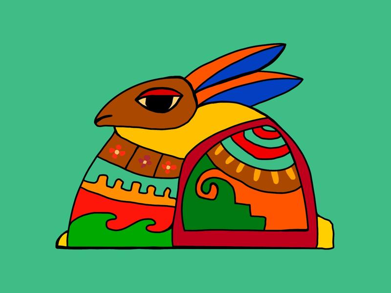 No Blinks Bunny procreate apple pencil ipad pro