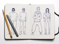 Sketch to China has hip-hop