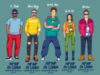 There are hip hop in China.