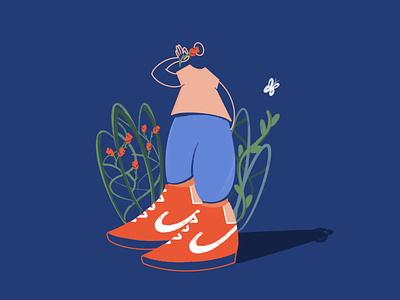 Smell the 🌹 art drawing character procreate digitalillustration illustration