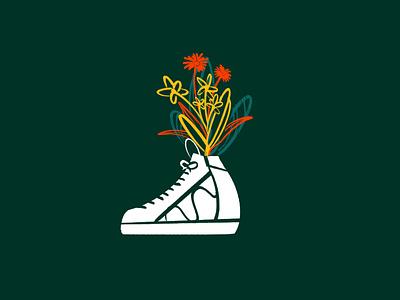 Sneaker Bouquet 01 procreate drawing art illustrator illustration