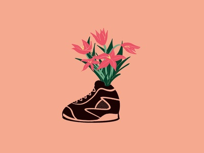 Sneaker Bouquet 02 procreate drawing art illustration