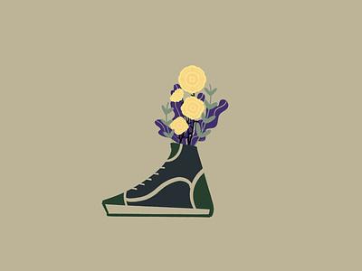 Sneaker Bouquet 03 procreate digitalillustration drawing art illustration