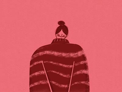 Sweater Weather winter art drawing procreate digitalillustration illustration