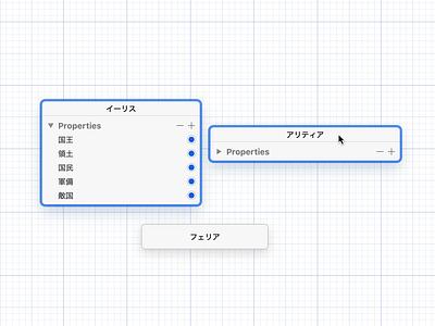 Diagram app prototype app macos ui