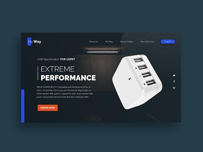 Extreme Performance illustration identity minimal lettering website app type web ui ux design