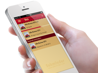 Reminder iOS app reminder ios app sabminder iphone reaminder ux ios 7 ui user interface