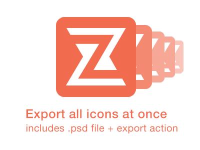 Export Icons free icons ios zappdesigntemplates freebie icon