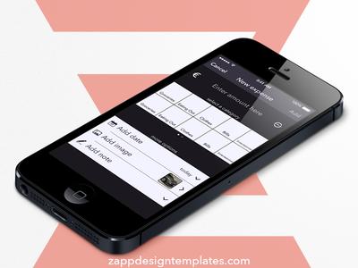 Expensetracker iOS app