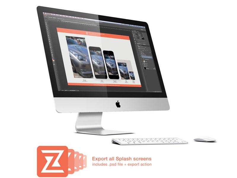 Freebie - Splash screen maker for iOS apps ios7 ios iphone app splash screen zappdesigntemplates free freebie psd ios app ios 7