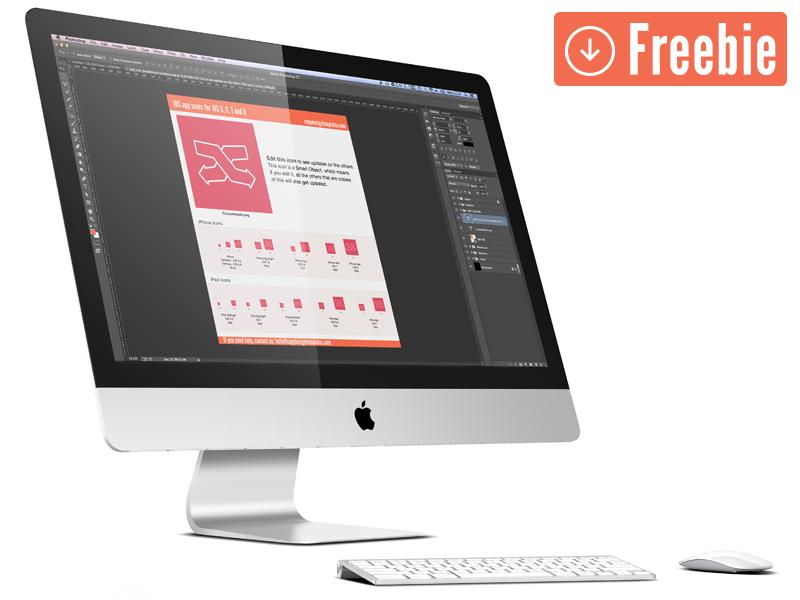 Freebie iOS App Icon Export free freebie ios7 iphone iphone app iphone 6 iphone 6plus icon app icon ios 8 iphone app icon